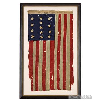 Revolutionary War American flag