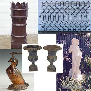 Kovels' 5 Top Garden Antiques