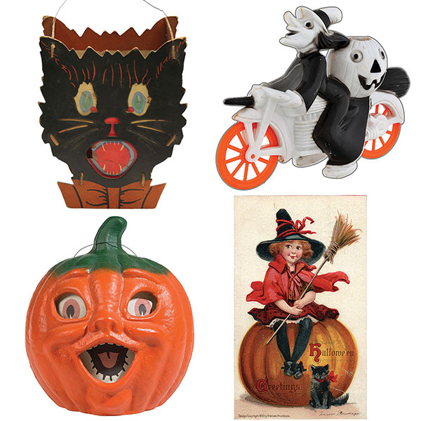 halloween antiques and collectibles