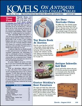 Kovels on Antiques and Collectibles August Issue