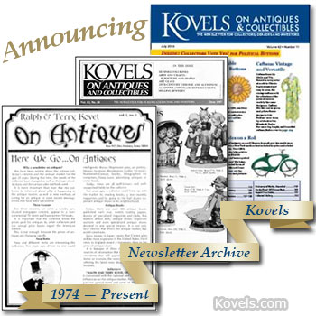 Kovels On Antiques & Collectibles