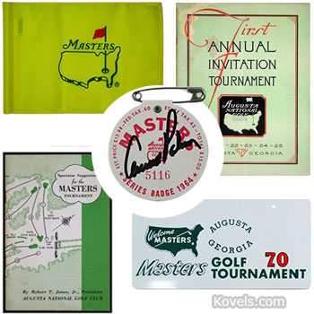 Top 11 Golf Collectibles Any Collector Would Love