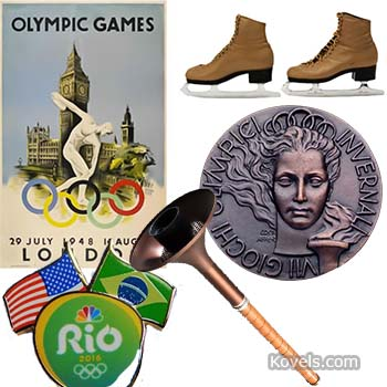 Collectors Can Score with Olympic Memorabilia