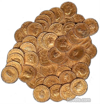 Pile O' Coins Paperweight