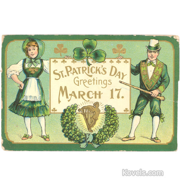 St. Patrick's Day Greetings!