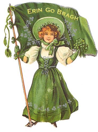 Postcard, St. Patrick's Day