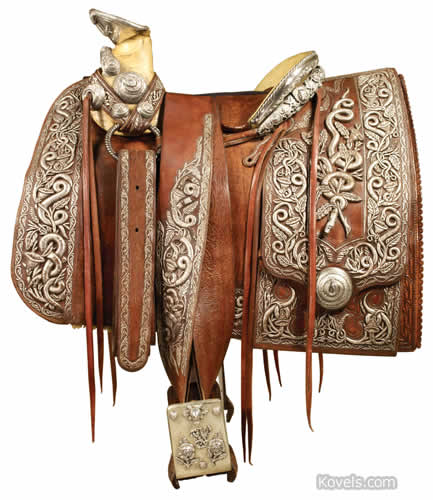 Pancho Villa saddle