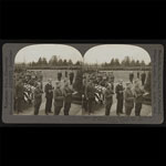 Memorial Day – A Stereo Card View of the Burial of the Unknown Soldier