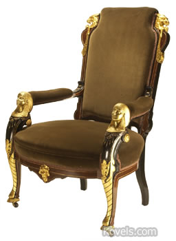 Egyptian Revival Chair