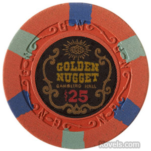 Casino Chip, Golden Nugget