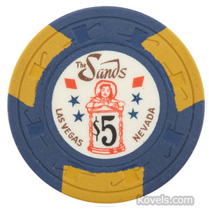 Casino chip, The Sands