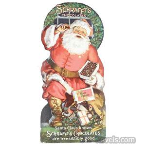 Schrafft's Chocolates Christmas sign