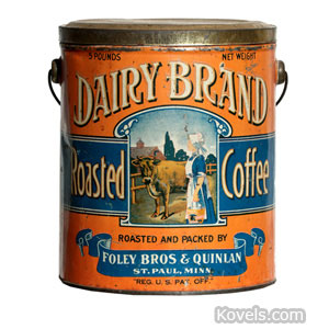 Dairy Brand Roasted Coffee can