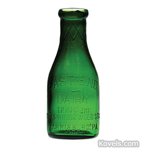 Milk bottle, East End Dairy