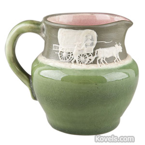 Pisgah Forest cameo pitcher