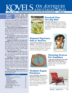Kovels on Antiques and Collectibles Vol. 37 No. 8