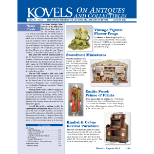 Kovels on Antiques & Collectibles August 2011