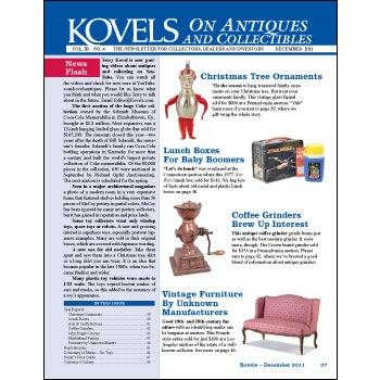 Kovels on Antiques and Collectibles Vol. 38 No. 4