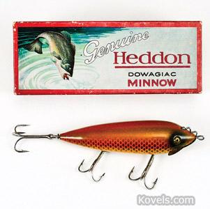 Heddon Wiggler lure