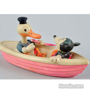 Celluloid Disney push toy