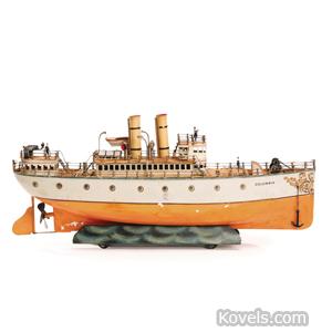 """Bing ocean liner """"Columbia"""""""