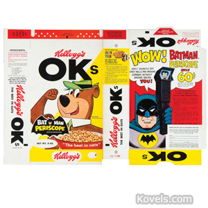 Kellogg's OKs cereal box