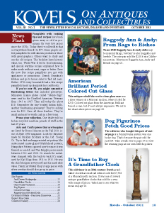 Kovels on Antiques and collectibles Vol. 38 No. 2