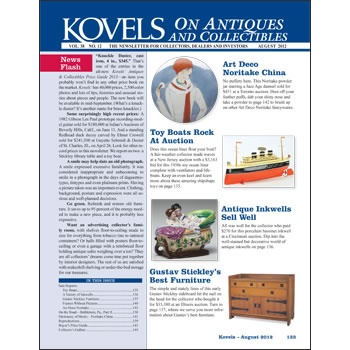 Kovels on Antiques and Collectibles Vol. 38 No. 12