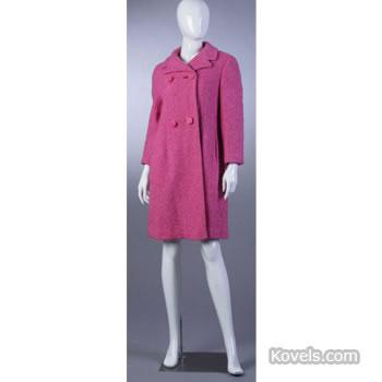 Bergdorf Goodman pink coat