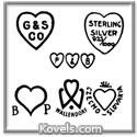Heart-shaped marks