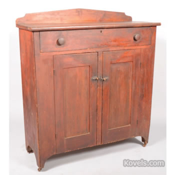 Pennsylvania softwood jelly cupboard