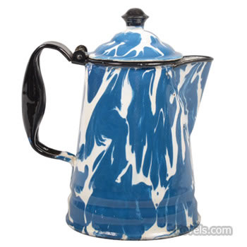 Graniteware coffeepot