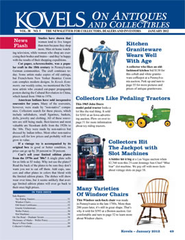 Kovels on Antiques and Collectibles Vol. 38 No. 5