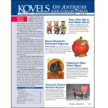 Kovels on Antiques and Collectibles Vol. 38 No. 11