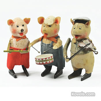 Three Little Pigs musicians