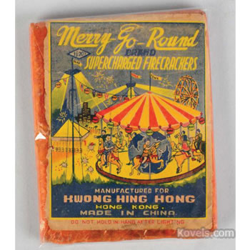 Merry-Go-Round firecrackers pack