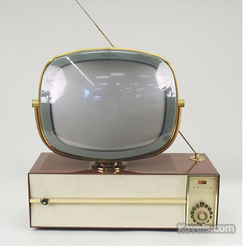 Philco Predicta Princess swivel television set
