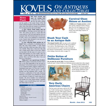 Kovels on Antiques and Collectibles Vol. 39 No. 10