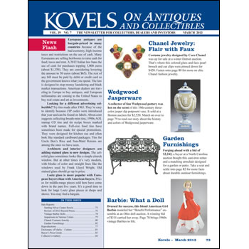Kovels on Antiques and Collectibles Vol. 39 No. 7