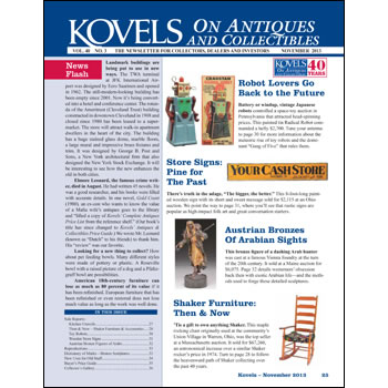 Kovels on Antiques and Collectibles Vol. 40 No. 3