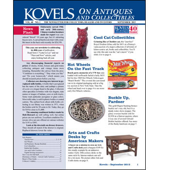 Kovels on Antiques and Collectibles Vol. 40 No. 1