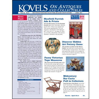 Kovels on Antiques and Collectibles Vol. 40 No. 8