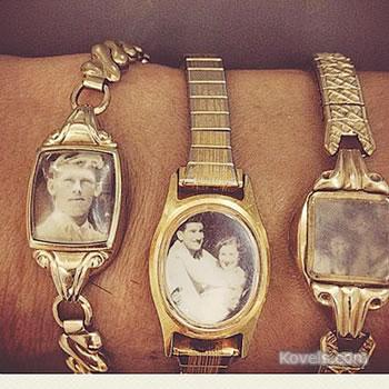 "Wrist ""locket"""