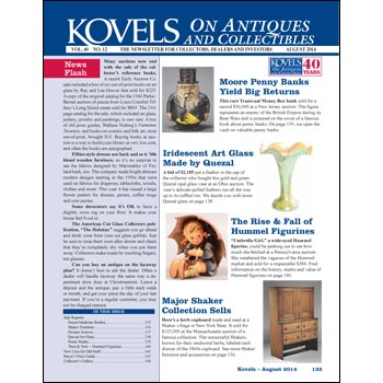 Kovels' on Antiques and Collectibles Vol. 40 No. 12