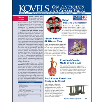 Kovels on Antiques and Collectibles Vol. 40 No. 6