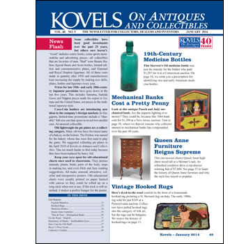 Kovels on Antiques and Collectibles Vol. 40 No. 5