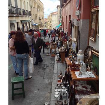 Madrid market scene