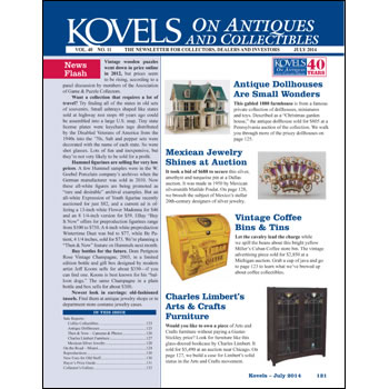 Kovels on Antiques and Collectibles Vol. 40 No. 11