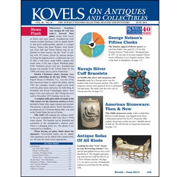 Kovels on Antiques and Collectibles Vol. 40 No. 10