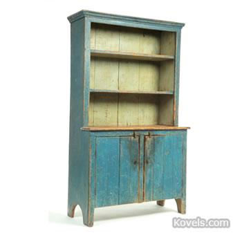 Open-top cupboard